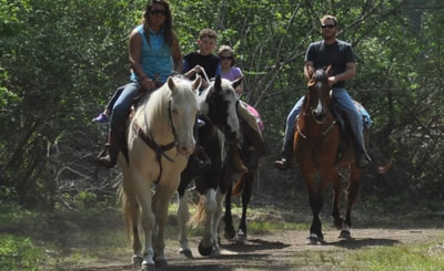 Trail Horseback Riding